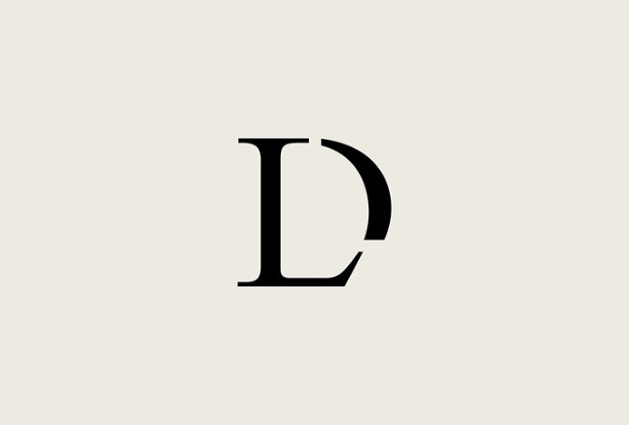 Lou Dungate by Surface and Form #logotype #logo #typography