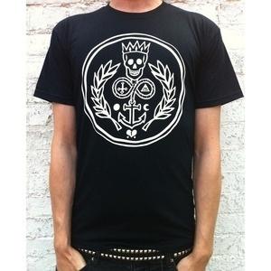 The Dead Sea Mob Shop — The Dead Sea Mob - Logo T-shirt in black #logo #clothing #shirt