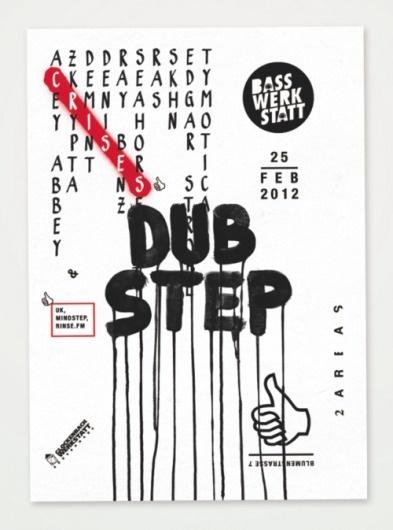 PAUL KATZE #dubstep #poster