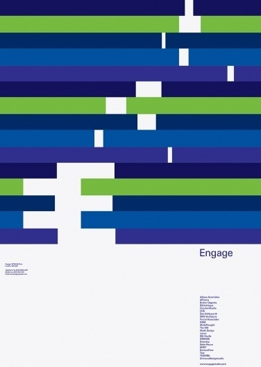 Engage | Bibliothèque Design #branding #event #engage #identity #poster