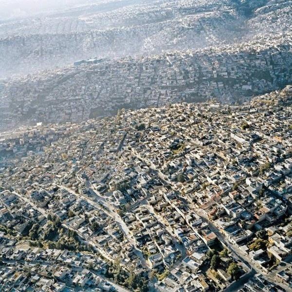Mexico City From The Air #mexico #city #air #birds #eye #photography #pablo #lopez #luz