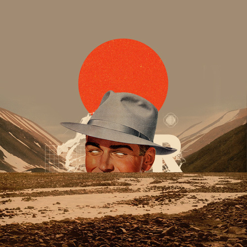 R/Mark Weaver #mark weaver #collage #vintage #nostalgia #surrealism #desert