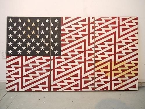tumblr_lnpzg8rwFy1qz6f9yo1_500.jpg (Immagine JPEG, 499x374 pixel) #flag #states #united #art