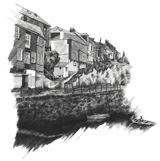 Zoe's Illustrations || Boat Studio #zoe #barker #drawing #illustration #boat #pencil