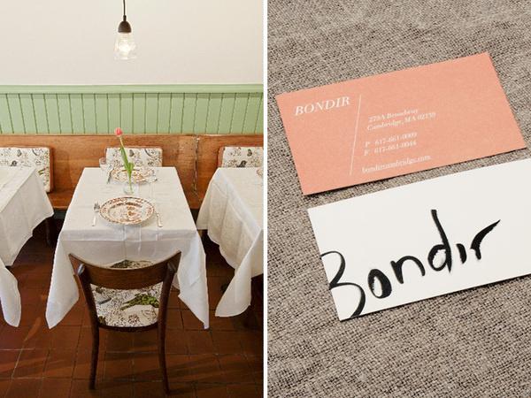 Bondir on the Behance Network #branding