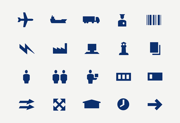DSV Corporate icons #icons #minimal