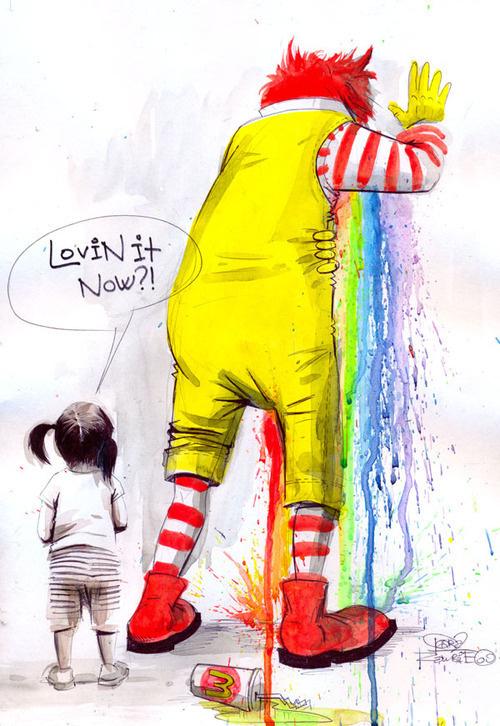 CJWHO ™ (Lora Zombie LOVIN IT Lora Zombie is a young...) #lora #mcdonalds #design #illustration #art #zombie