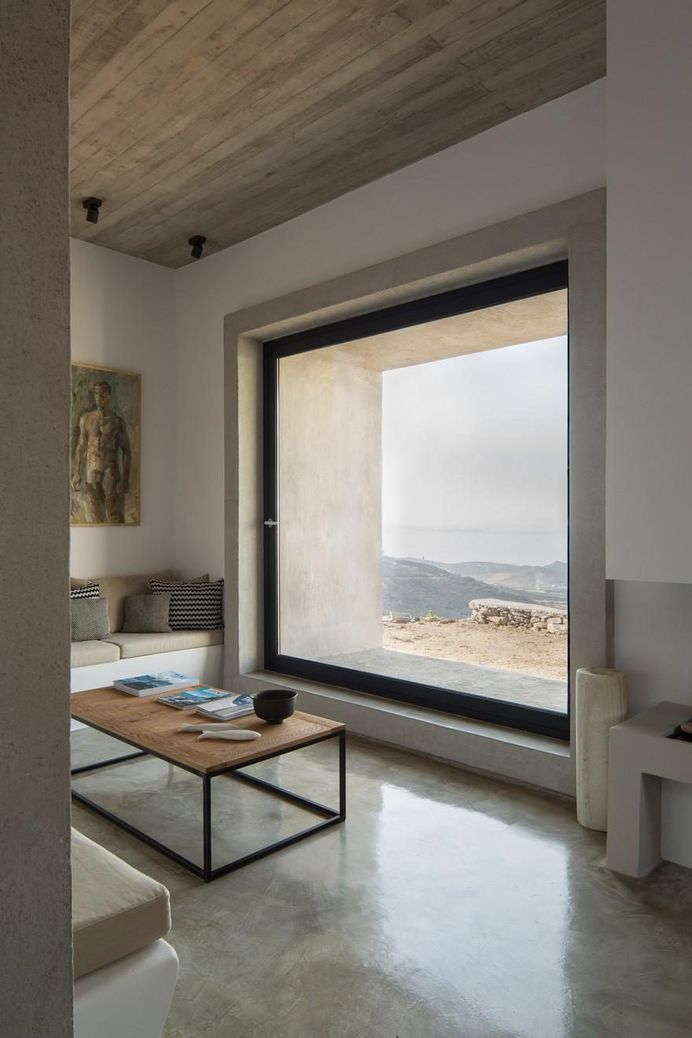 Contemporary Stone Residence in Triantaros Village, Greece / Aristides S. Dallas 17