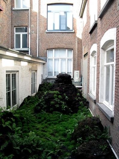 RA concept store in Antwerp | Yatzer #garden #roof #plants