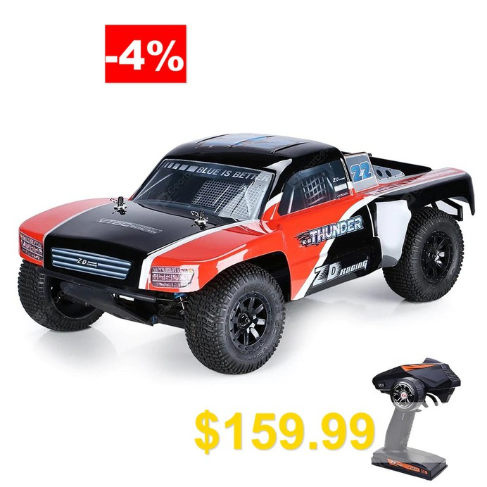 ZD #Racing #SC #- #10 #1/10 #Brushless #Remote #Control #Off-road #Car #- #RED