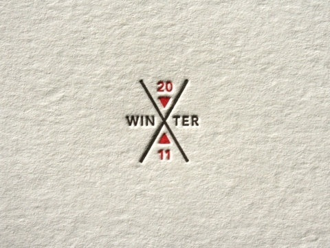 FFFFOUND! | Winter Xgames Field Guide « Beast Pieces #mark #icon #letterpress #logo #letterhead