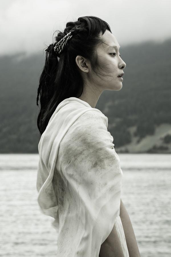 "VOGUE TALENTS ""TINTAGEL"" on Behance #profile #woman #girl #landscape #photography #nature #lake #japan #beauty"
