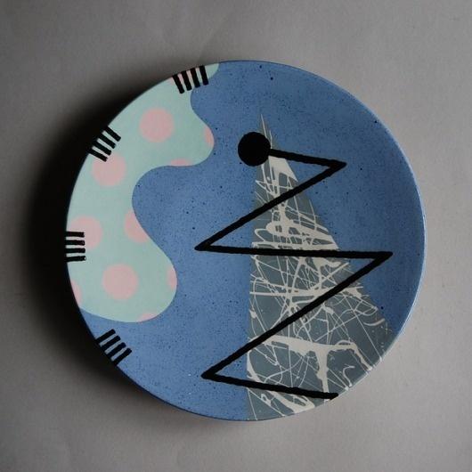 Blogtown, USA #plate #ceramic #pattern