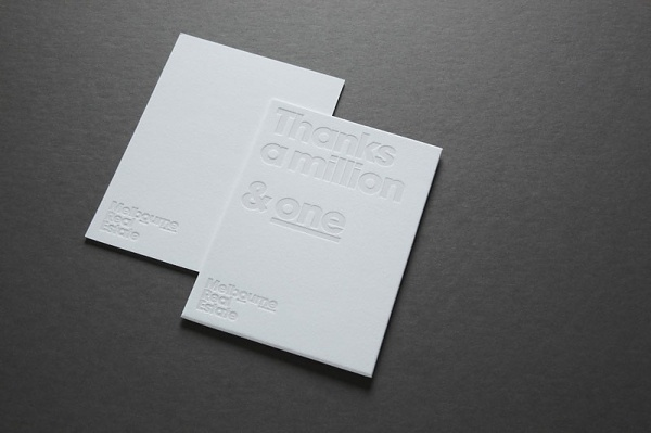 Looks like good Graphic Design by Cornwell #debossing #white #business #on #cards