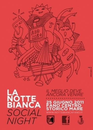 Social Night : antoniocolomboni.com #graphic