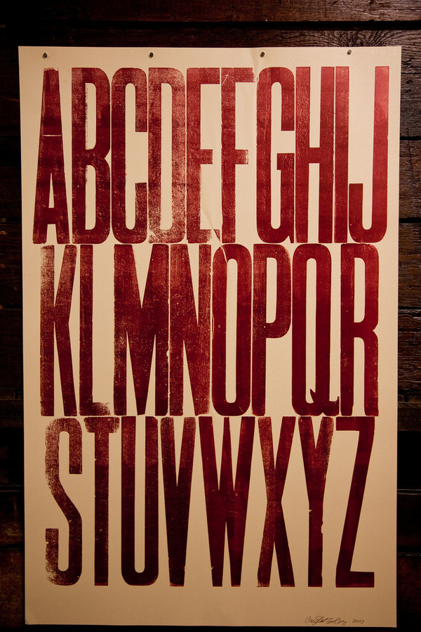 The Hamilton Wood Type museum is being forced to move and needs your help. Please donate, buy stuff, or become a member at woodtype.org. The #specimen #wood #poster #type #typography