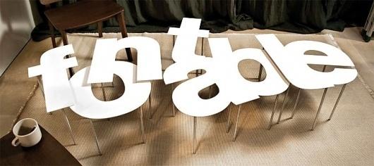 Buamai - Fontable — outdoorz gallery — Designaside.com #font #helvetica #table #typeface