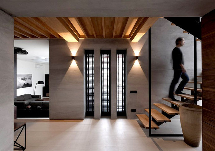 Trendy Functional and Contemporary Home trendy functional contemporary home #interior #design #decor #home