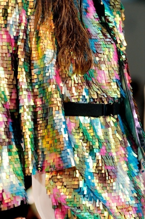 Pinned Image #textile #sequins #multicolour