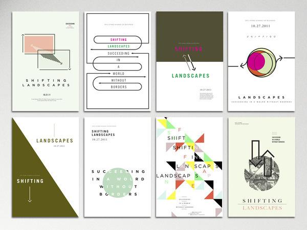 NYU Shifting Landscapes Lisa Hedge #posters