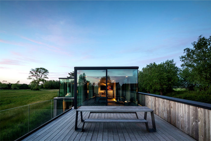 Impressive Architectural Construction of Graafjansdijk House - #house, #home, #decor, #interior, #outdoor,