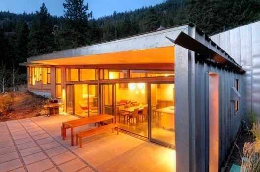 WANKEN - The Blog of Shelby White » Miners Refuge by Johnston Architects #steel #house #architects #wood #architecture #johnston