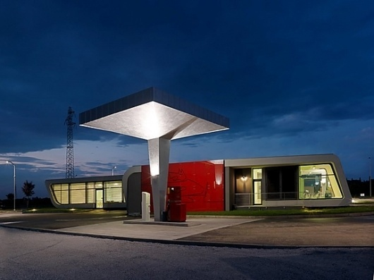 Onestep Creative - The Blog of Josh McDonald » The Gazoline Petrol Sation #modern #commercial #photography #architecture #gas #station