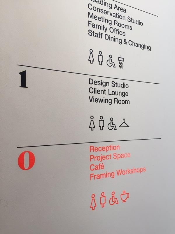 "Two Times Elliott on Twitter: ""@TwoTimesElliott: Interesting visit today to @pushprlondon at the recently developed @JohnJonesLondon Art Bui #signage #wayfinding"