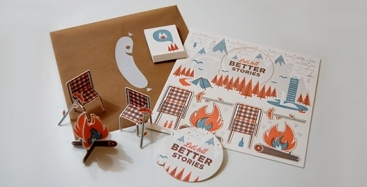 Swink | Print | Let's Tell Better Stories #print #collateral #pormotional