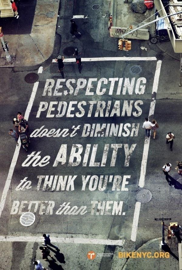 Bike Like a New Yorker2 #bicycle #typography #bike #street #york #nyc #new