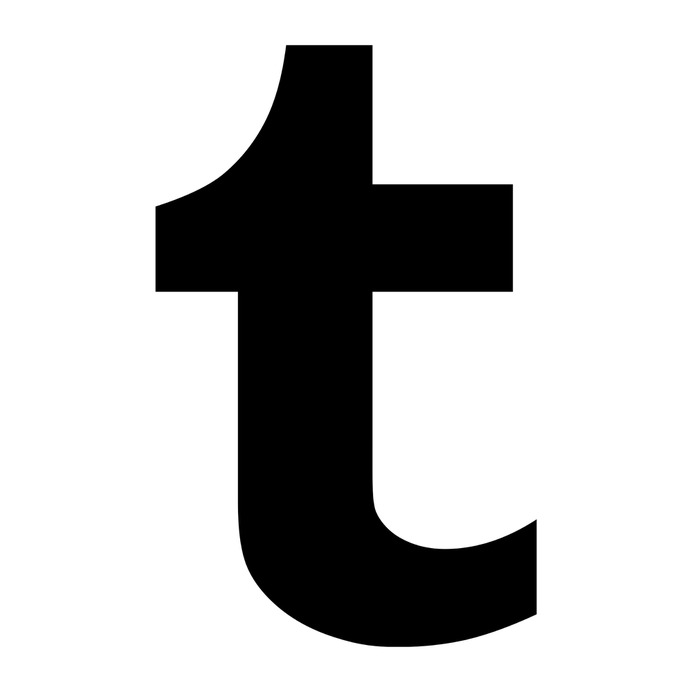 See more icon inspiration related to tumblr, letter, logo, social, website, social network, web, social networks and network on Flaticon.