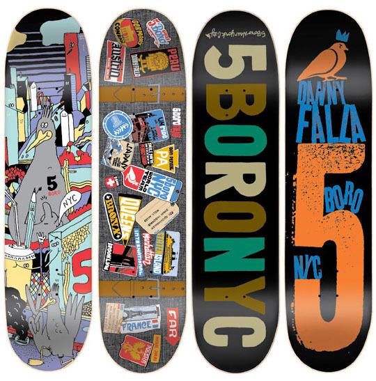 5boro 2010 Spring Decks mashKULTURE #skateboards