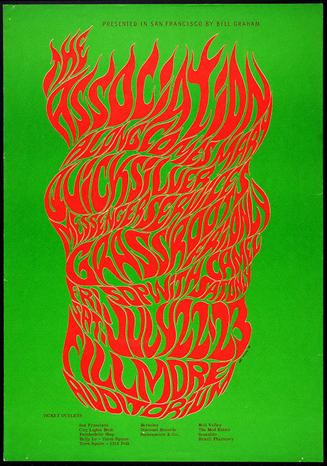 Wes Wilson — The New Graphic #type