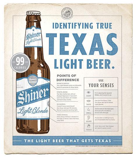 Shiner Light Blonde Poster #beer #ad