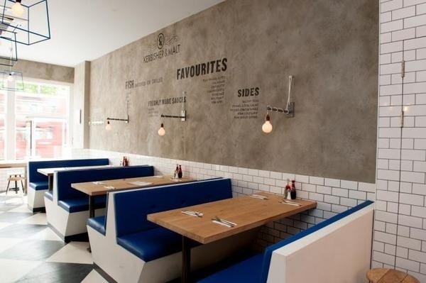 London's Best Chippy, Style Included : Remodelista #restaurant