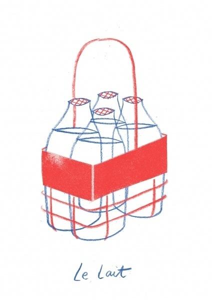 ryan gillett #milk #illustration