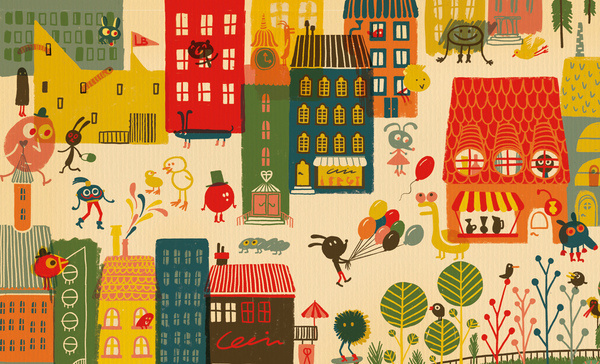 ARHOJ > Lejerbo #illustration #city