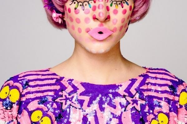 Romance Was Born 'Magic Mushroom' MBFWA 2013 #pattern #look #makeup #book #photography #fashion