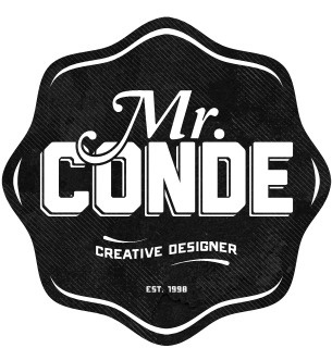 Mr. Conde #logo #identity #typography