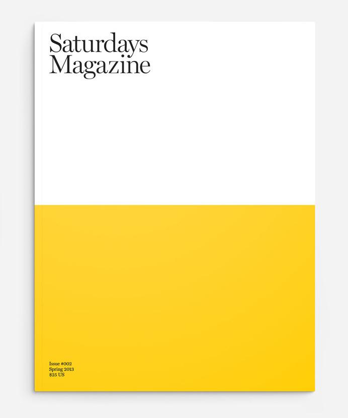SATURDAYS MAGAZINE #shapes
