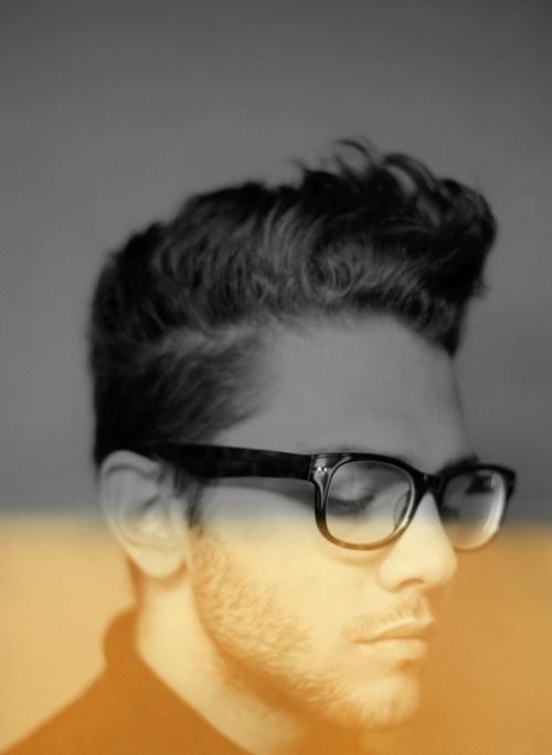 Pinterest #glasses #bot #actor #depth #director #hair #man #bw