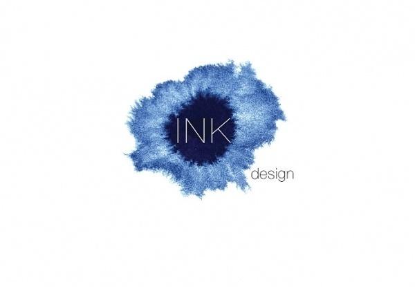 Graphinya #ink #drop #logo #helvetica #blue