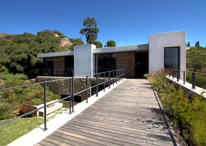 Romantic Hillside Vineyard Villa modern interpretation traditional farmhouse 1 #architecture #house #villa