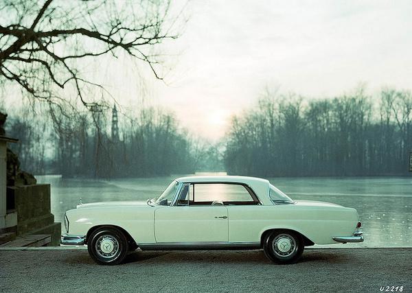 Mercedes-Benz 220 SEb (111 series, 1961–1965) #coupe #auto