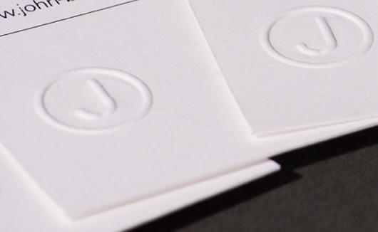 John Burgess | Graphic Design #embossing #business #burgess #john #stationery #cards