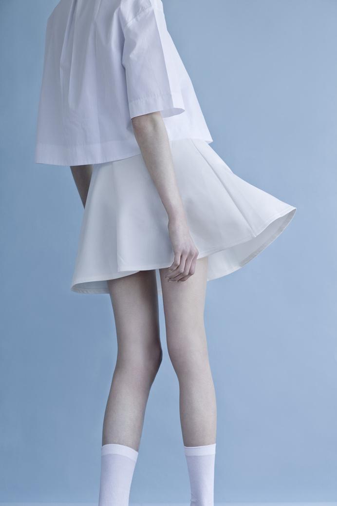 The Morning by Milan based photographer Chiara Predebon featuring Leila #preebon #revs #leila #fashion #magazine #chiara