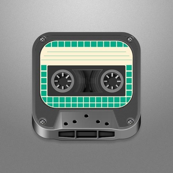 Big_tape #icon #design #iphone #app #mobile #device