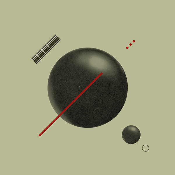 Mark Weaver - Untitled #mark #abstract #geometry #negative #space #orbit #weaver