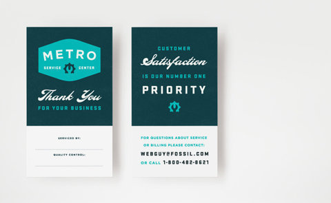 Brent Couchman Design #card #metro #business #green