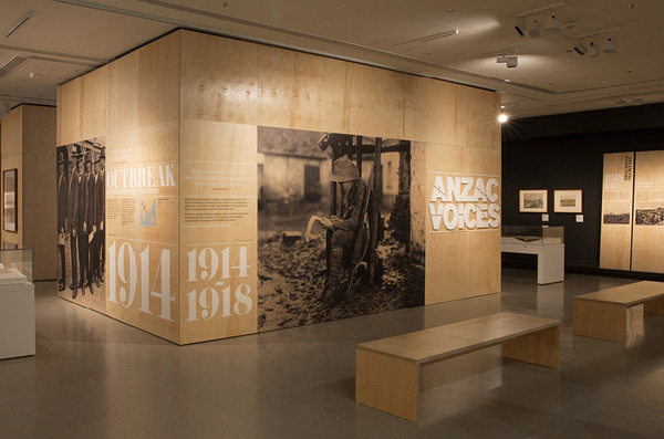 ANZAC Voices #exhibition #wood #war
